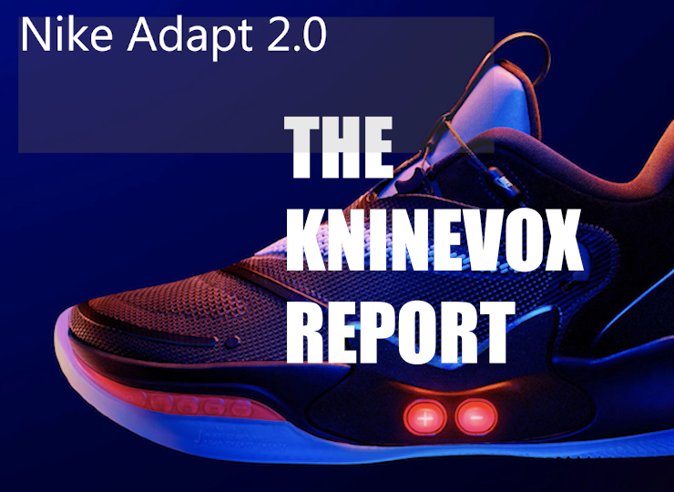 estética de lujo 2019 mejor venta costo moderado Nike Adapt 2.0 | Self lacing to next level - KNine Vox