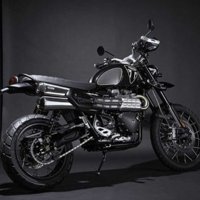 triumph james bond bike