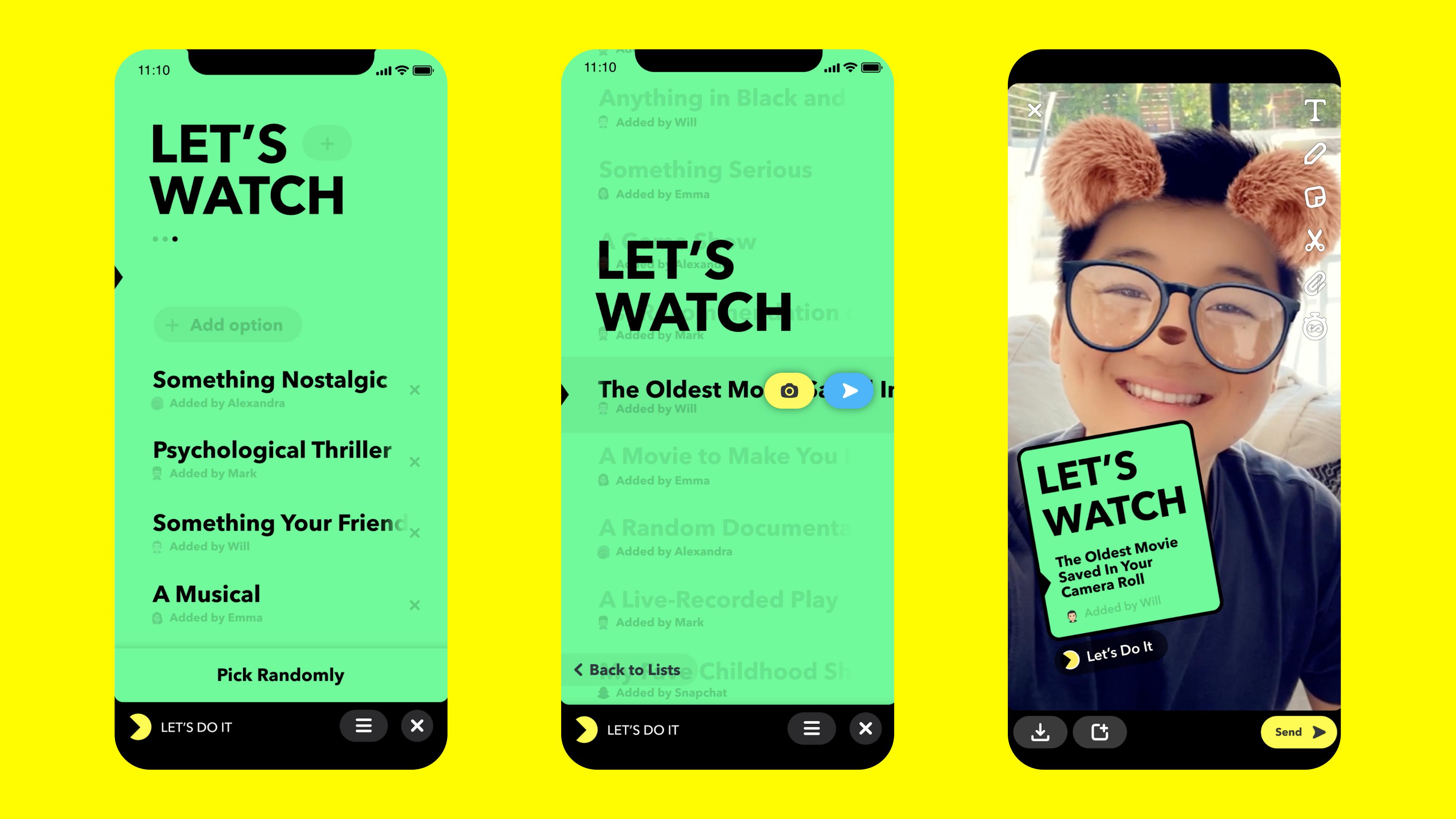 snapchat announces snap minis