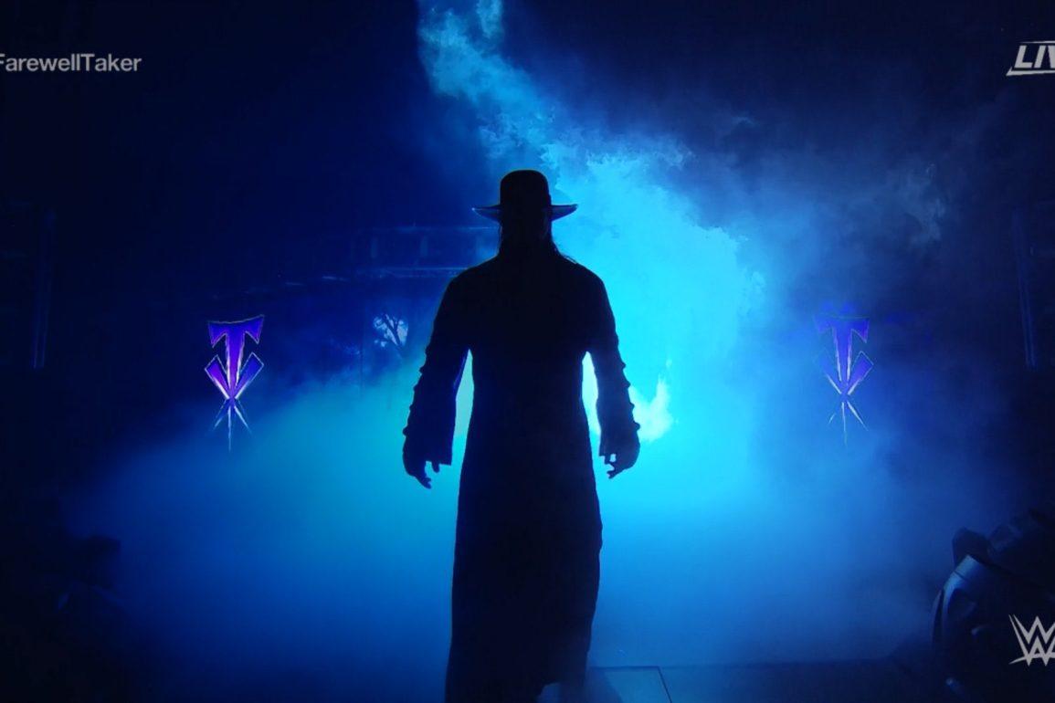 the undertaker retires