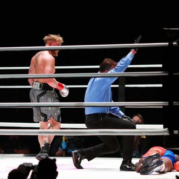 Jake Pauls vs Nate Robinson