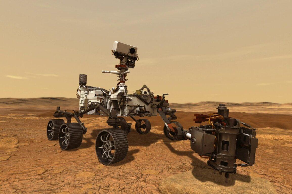 nasa Perseverance rover