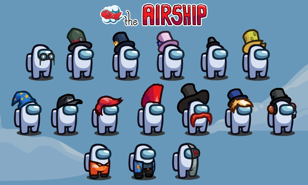 Among Us Airship Map is finally here, the biggest map yet
